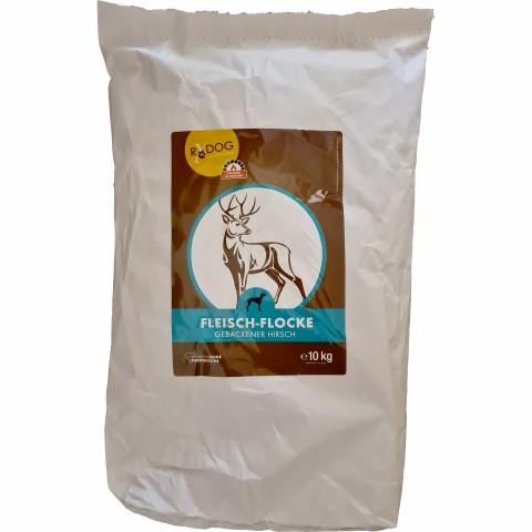 Meat-flakes venison (Fleisch-Flocke Hirsch) 10kg (1 Piece)